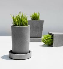 KANT CIRCULO, betonový květináč