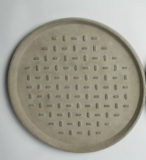 MINUS, betonový talíř