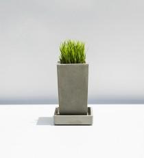 KANT CUADRADO, betonový květináč