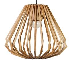 Kouzlo dřevěného materiálu